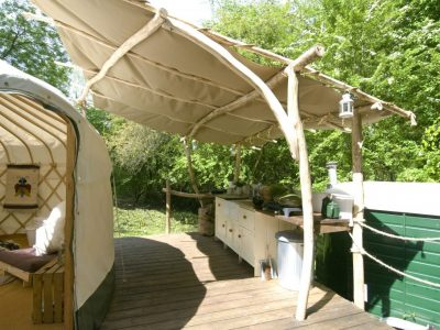 YURT DECK KITCHEN W-S 1