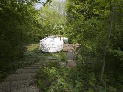 YURT IN GLADE 2